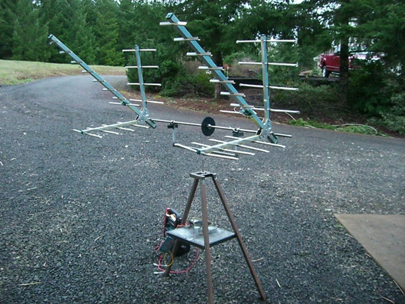 satantenna Photo of 2m / 70cm satellite antenna. While I've made a point elsewhere that ...